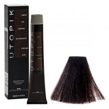 4/00+ Шатен интенсивный, Профессиональная крем краска для волос